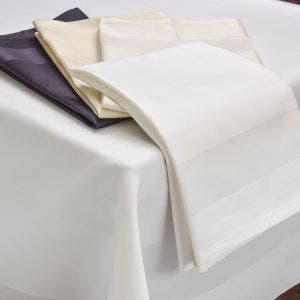Satin Band 4 hems Tablecloth