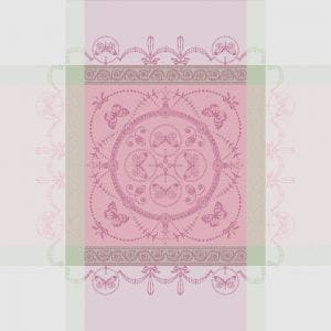 "Eugenie Candy Napkin 21""x21"", 100% Cotton"
