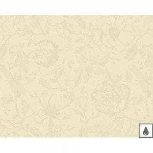 "Mille Charmes Ecru De Blanc Placemat 16""x20"", Coated Cotton"