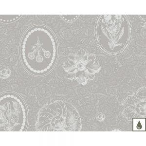 """Mille Eclats Macaron Irise Placemat 16""""x20"""", Coated Cotton"""