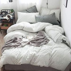 Stripes Duvet Set, 200 thread count