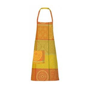 "Mille Sicilia Limoni Apron 28""x33"", Coated Cotton"
