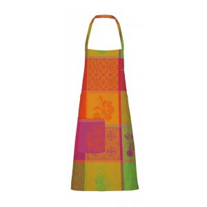 "Mille Tutti Frutti Sangria Apron 30""x33"", Coated Cotton"