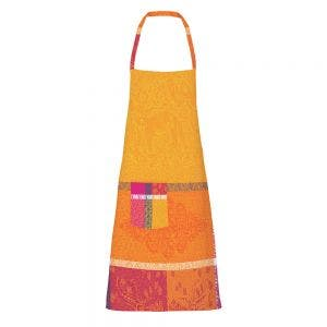 "Mille Holi Epices Apron 28""x33"", Coated Cotton"