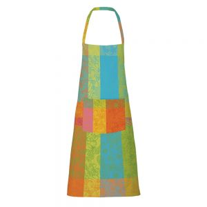 "Mille India Festival Apron 30""x33"", Coated Cotton"