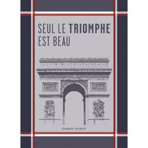 "Arc Marseillaise Kitchen Towel 22""x30"", 100% Cotton"