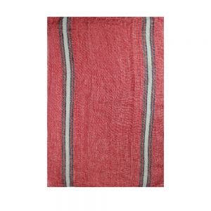 "Costa Terracotta Kitchen Towel 20""x28"", 100% Linen"
