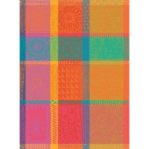 "Mille Wax Tor Creole Kitchen Towel 22""x30"", 100% Cotton"