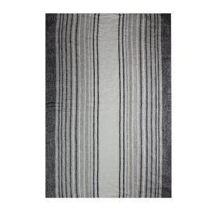 "Paseo Anthracite Kitchen Towel 20""x28"", 100% Linen"