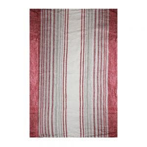 "Paseo Terracotta Kitchen Towel 20""x28"", 100% Linen"
