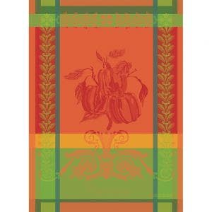 "Poivron Paprika Kitchen Towel 22""x30"", 100% Cotton"