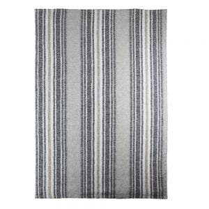 "Sombrilla Gris Kitchen Towel 20""x28"", 100% Linen"
