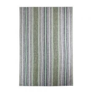"Sombrilla Olive Kitchen Towel 20""x28"", 100% Linen"