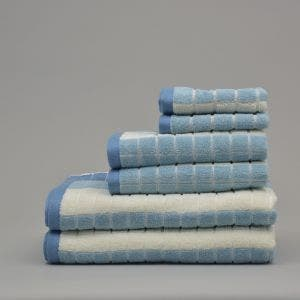 Venezia Denim Blue Bath Set