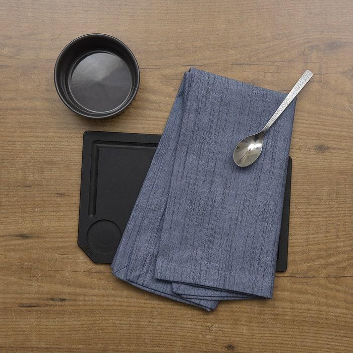 Denim Blue Napkin, 100% Cotton, Set of 4