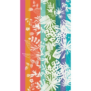 "Goa Plage Rainbow Beach Towel, 39""x71"""