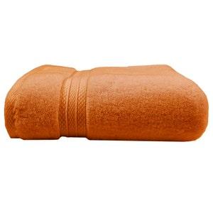 "Elea Orange Bath Towel, 28""x55"""