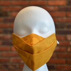 Reusable 2-layer NON Surgical Face Mask - Yellow