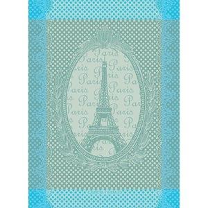 Eiffel Vintage Celadon Kitchen Towel