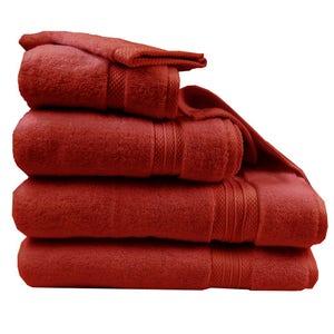 Elea Cerise Towel