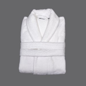 Fluffy Bath Robe, XL