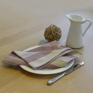 Foresti Multi-Color Striped Napkin