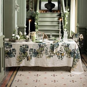 Giardino Naturel Tablecloth, 100% Linen