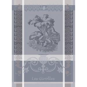 Girolles Anthracite Jacquard Kitchen Towel Image