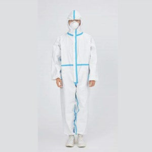 Disposable Isolation Gown/Coverall with hood