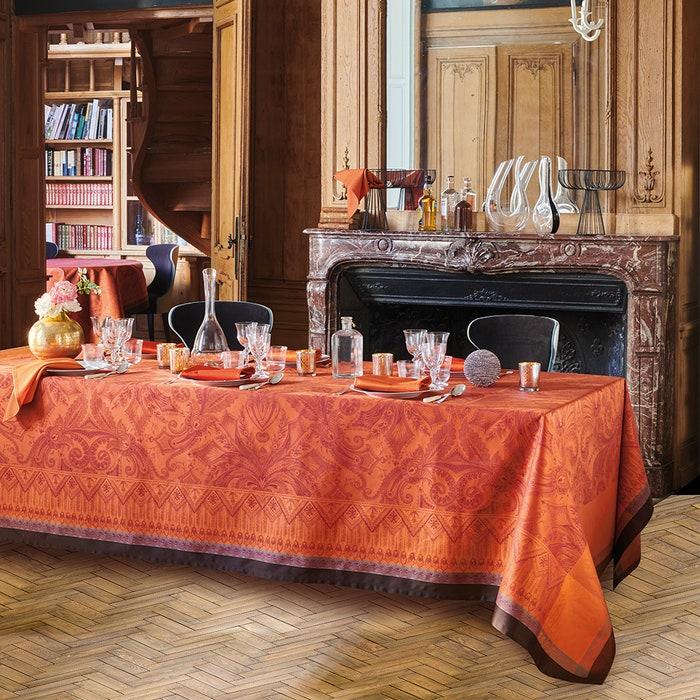 Grace Flamboyant Jacquard Tablecloth