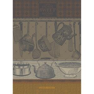 Home Sweet Home Safran Jacquard Kitchen Towel Image