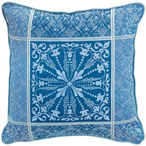"Cassandre Saphir Cushion Cover 20""x20"", 100% Cotton"