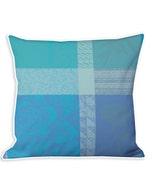 Mille Gardenias Lagon Cushion Cover
