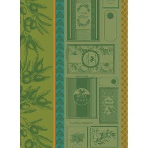 Huile d'Olives Vert Kitchen Towel