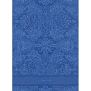 Isaphire Bleu Kitchen Towel, Cotton-linen blend