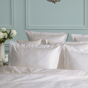 Isaphire Diamant Blanc King Pillow Sham