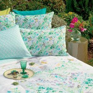 Jardin Vagabond Printemps Pillow Sham
