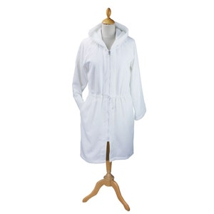 Kate White Bath Robe