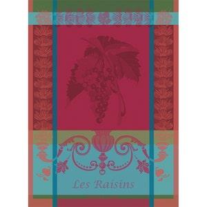 Les Raisins Lie De Vin Kitchen Towel