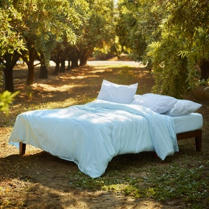 Sunset Brushed Percale Duvet Cover