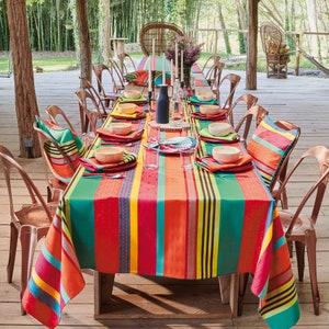 Mille Arizona Pampa Jacquard Tablecloth Image