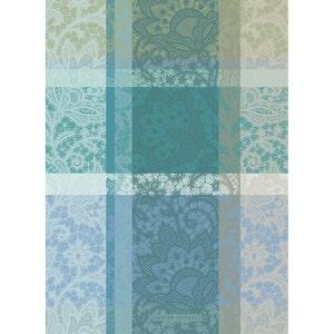 Mille Dentelles Turquoise Kitchen Towel
