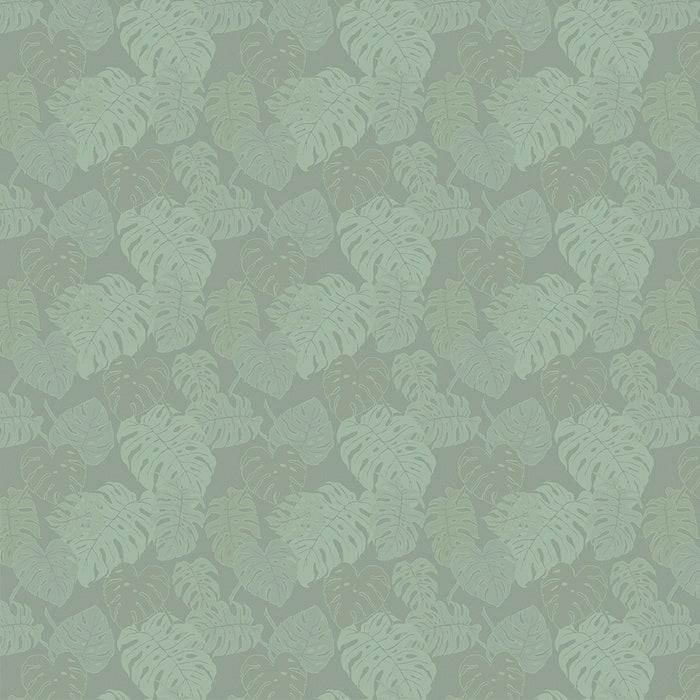 Mille Evergreen Vert De Gris Jacquard Tablecloth