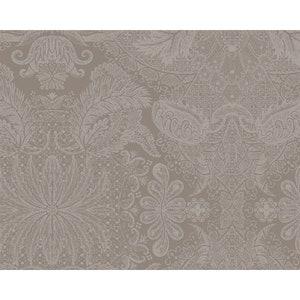 """Mille Isaphire Mini Beige Jacquard Placemat 16""""x20"""", 100% Cotton Image"""
