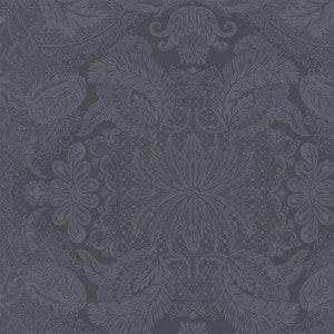 Mille Isaphire Mini Zinc Jacquard Napkin, 100% Cotton Image