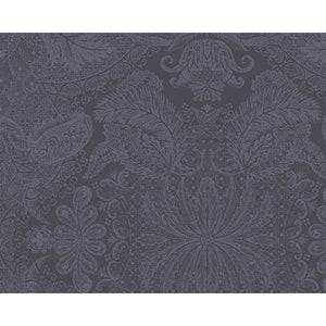 """Mille Isaphire Mini Zinc Jacquard Placemat 16""""x20"""", 100% Cotton Image"""