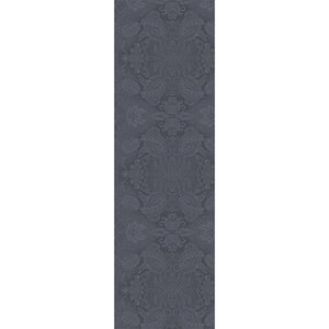 Mille Isaphire Mini Zinc Jacquard Tablerunner, 100% Cotton Image