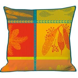 "Mille Phoenix Automne Cushion Cover 16""x16"" Image"