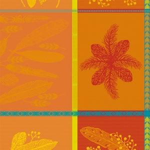 Mille Phoenix Automne Jacquard Napkin, 100% Cotton Image