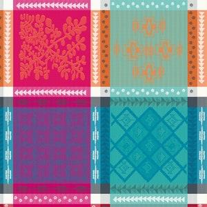 Mille Pueblo Fiesta Jacquard Napkin, 100% Cotton Image